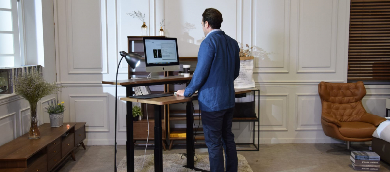 The GAZE DESK is the Standing Desk of the Future